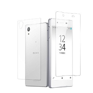 MS factory Xperia Z5 [ 両面セット ] 液晶 背面 保護 ガラスフィルム docomo SO-01H au SOV32 softbank 501SO フィルムガラス 国産...