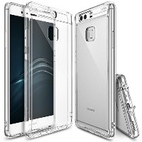 Huawei P9 ケース, Ringke [FUSION] クリスタル クリアPCケースfor Huawei P9 - Crystal View