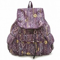 LeSportsac レスポートサック リュックサック 7839 VOYAGER BACKPACK D651 Deco Charm Plum [並行輸入商品]