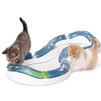 Catit Design Senses Super Roller Circuit Toy for Cats by Catit