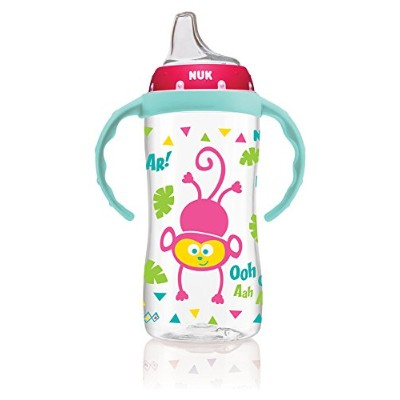 NUK Jungle Designs Learner Cup, 10-Ounce by NUK