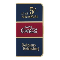 【iPhone6Plus/6sPlus対応】Coca-Cola(コカ・コーラ) iPhone 6Plus ブックレットケース Old 5 cents