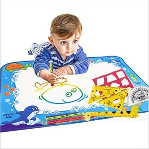 Doodle Mat Magic Pen Water Painting Drawing Writing Board Large Size For Baby Kids Gift by lanlan ...