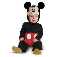 Disney Mickey Mouse Infant Costume ディズニーミッキーマウス幼児コスチューム サイズ:6/12 Months