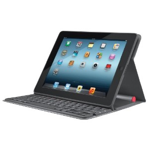 並行輸入品 Logitech Solar Keyboard Folio for iPad 2 and iPad (3rd/4th generation)