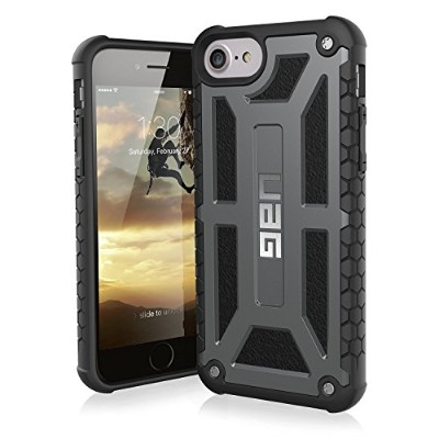 URBAN ARMOR GEAR 4.7インチ対応(iPhone8/7/6s) Monarch Case グラファイト UAG-IPH7-P-BLK 【日本正規代理店品】