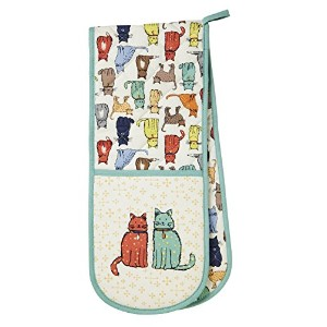 Cat Walk Double Oven Glove
