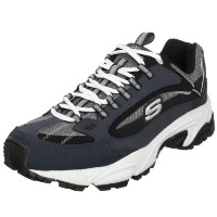 Skechers Stamina Nuovo Mens, Navy/Black, 44 EUR