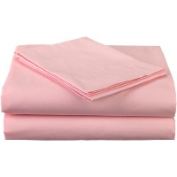 American Baby Company 100% Cotton Percale Toddler Bedding Sheet Set, Pink, 3 Piece by American Baby...