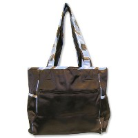 Trend Lab Max Tulip Tote Bag with Changing Pad by Trend Lab
