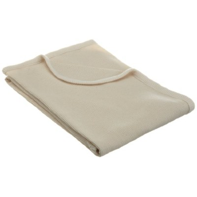 American Baby Company Thermal Swaddle Blanket made with Organic Cotton, Natural Color by American...