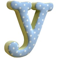 New Arrivals The Letter Y, Blue and Green by New Arrivals