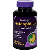 海外直送品 Natrol (incl Laci Le Beau Teas) Acidophilus Probiotic Value Size, 150 Caps 100 mg