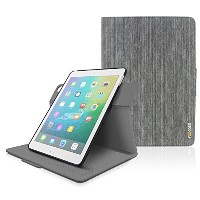 Apple iPad Air (2013) Case - roocase Orb System Folio 360 Dual View Leather Case Smart Cover with...