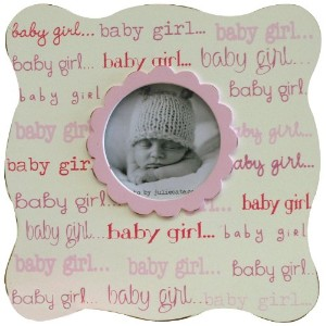 New Arrivals Baby Picture Frame, Girl by New Arrivals