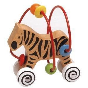 Smart Frames Animal Runners-Zebra by Castle