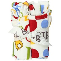Trend Lab Dr Seuss ABC Bib Bouquet, 4 Piece by Trend Lab