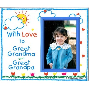 With Love to Great Grandma & Great Grandpa Picture Frame Gift by Expressly Yours! Photo Expressions