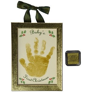 The Grandparent Gift Co. Holiday First Christmas Handprint Keepsake, Baby's by The Grandparent Gift...