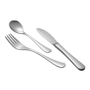 Child Size Flatware Set Utensils Traditional by One Step Ahead