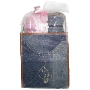Baby Phat 9 Piece Gift Set, Denim/Tan by Baby Phat