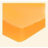 SheetWorld Fitted Pack N Play (Graco) Sheet - Orange Sherbert Jersey Knit - Solid Colors by...