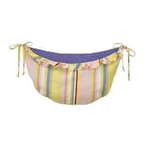 Cotton Tale Designs Spring Fling Toy Bag, Pink/Blue by Cotton Tale Designs