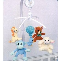 Precious Moments Baby Musical Mobile - Animals by Luv N' Care