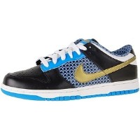 [ナイキ] NIKEレディーズ Women NI314141-071 Dunk Low 6.0 -black 23CM (US 6.0)