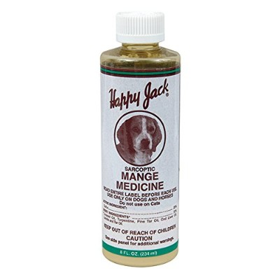 Sarcoptic Mange Medicine - 8 oz - By Happy Jack by Happy Jack