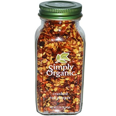 Simply Organic(シンプリー オーガニック) Crushed Red Pepper(レッドペッパー) 1.59 oz (45g) [海外直送品]