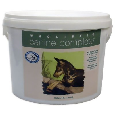 Wholistic Canine Complete (4 lbs Tub) by Wholistic Pet Organics