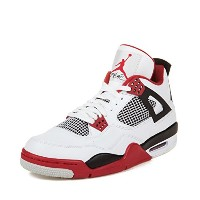(ナイキ) Nike メンズ 308497-110 AIR JORDAN 4 RETRO FIRE RED - 28CM (US 10.0)