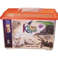 Lee's Kritter Keeper, Medium Rectangle w/Lid, Label, Colors may vary by Lee