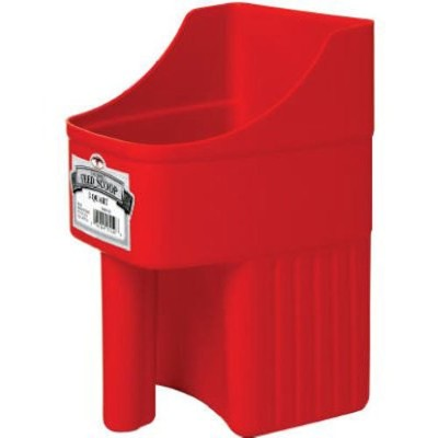 Little Giant 3-Quart Enclosed Feed Scoop, Red by Little Giant Outdoor Living