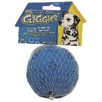 JW Pet Company Giggler Ball Dog Toy, Large, (Colors Vary) by JW Pet