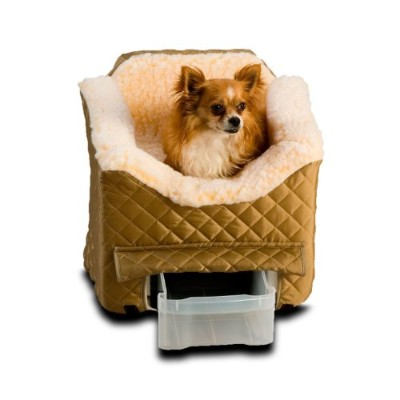 Snoozer Lookout II Pet Car Seat, Small II, Khaki by Snoozer