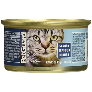 Pet Guard (C) Cat, Savory Seafood Dinner, 3-Ounce by Pet Guard (C)