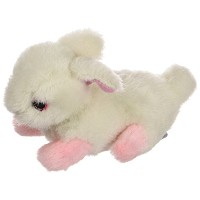 Multipet's Look Who's Talking Plush Talking Rabbit Dog Toy, 6-Inch by Multi Pet
