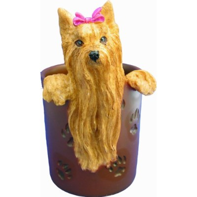Yorkshire Terrier, Long Hair - Pen/Pencil Holder by E&S Pets
