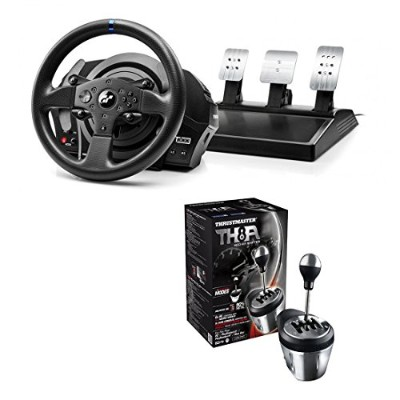 Thrustmaster T300RS GT Racing Wheel+ ThrustmasterTH8A Shifter セット販売 [並行輸入品]