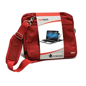 Navitech London ノートパソコン用社内持ち運び用キャリーバック (Asus EeeBook X205TA / HP 15-af000 / NEC LaVie Direct NS /...