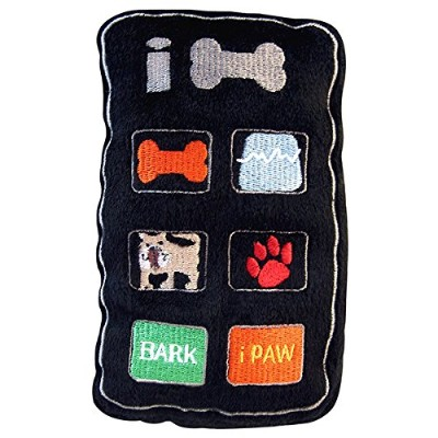 iBone Plush Squeaker Toy for Dogs by Dog Diggin Designs
