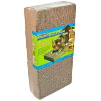 Ware Manufacturing Double Replacement Pad Corrugated Scratcher Cardboard 2Pack