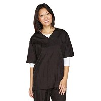 Top Performance V-Neck Grooming Smocks - Comfortable Pull-Over Nylon Tops for Professional Pet...