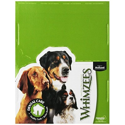 Paragon Whimzees Alligator Dental Treat for Dogs, Small, 100 Count by Paragon