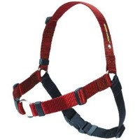 SENSE-ation No-Pull Dog Harness - Red, Large (Wide) by Softouch Concepts