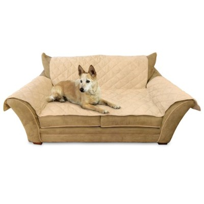 K&H Thermo Furniture Cover for Loveseat, Heated, Tan by K&H Manufacturing