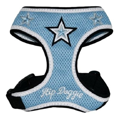 Hip Doggie Blue Super Star Mesh Harness Vest, X-Large by Hip Doggie