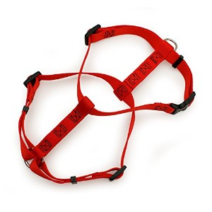 Aspen Pet Products Adjustable Harness, 20-28 x 3/4, Red by Doskocil